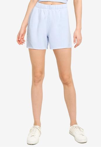 Hollister blue Knit Shorts 1D921AA799382EGS_1