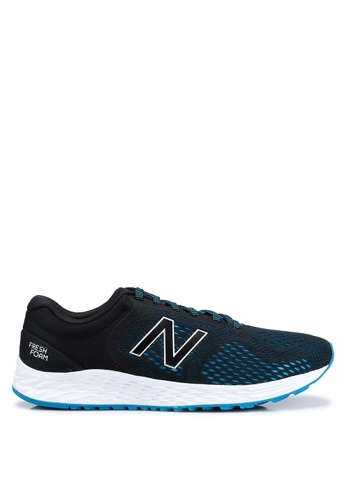 New Balance black and blue Arishi V2 Fresh Foam Shoes 88BDDSH960B83CGS_1