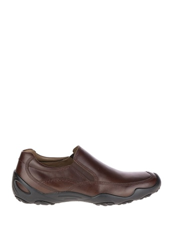 Hush Puppies brown Tedd Uro Traveller Waterproof Casual Shoes 30279SH737C5DBGS_1