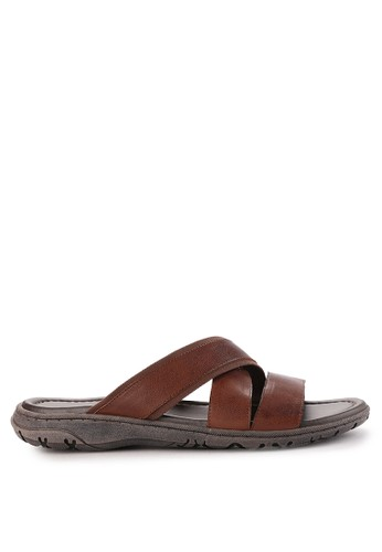 Andre Valentino brown Men Shoes 60068Za 4FD17SH6644B13GS_1