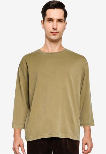 niko and ... green Woven T-shirt 285A1AA5F11B77GS_1