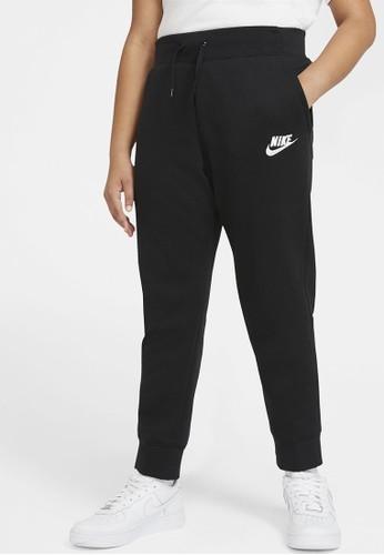 Nike black Girls' Sportswear PE Pants D3A9BKA937A955GS_1