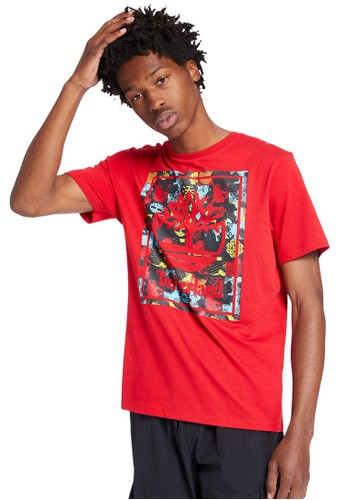 Timberland Timberland Men Cny Short Sleeve Stack Tee-TB0A246DP92 DC448AA215BE70GS_1
