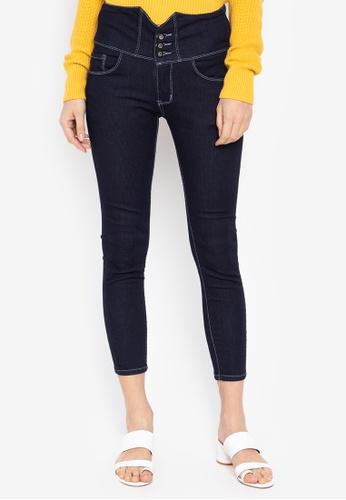 Balaynor blue High Waist Skinny Jeans 39ACAAA7E7C818GS_1