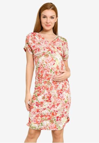 Mama.licious multi Pilar Sanya Jersey Dress 9B766AA7FB219DGS_1