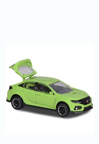Majorette green Majorette Honda Civic Type R Asst - Green 7F598TH4FB1524GS_1