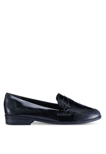 Anacapri 黑色 漆皮樂福鞋 7D613SHBDE4C20GS_1