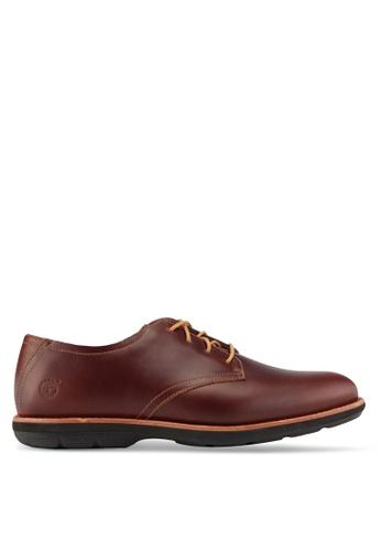 Timberland brown Kempton Oxford Shoes TI063SH0SB9XMY_1