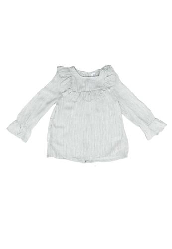 LC Waikiki grey Baby Girl's Ruffled Blouse 953E0KA236A85AGS_1