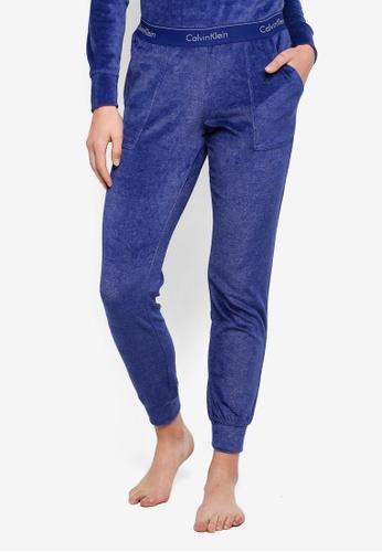 Calvin Klein blue Modern Cotton Joggers - Calvin Klein Underwear AD88BAAD0C64BAGS_1