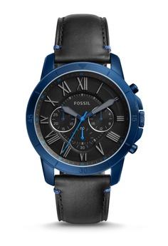 Fossil Black Fossil Grant Sport Watch Fs5342 Fo164ac0s0bwmy_1