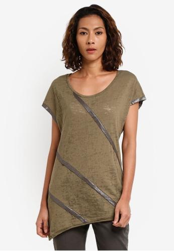 Contrast Metallic T-Shirt 480daaf4b