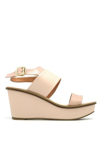 Carlo Rino pink Carlo Rino 333000-239-24 Sandal Wedges Platform  (Pink) D6A10SH074F6E6GS_1