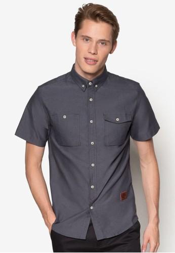 Short Sleeve Woven Shirt, esprit品牌介绍服飾, 襯衫