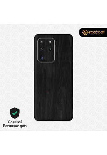 Exacoat Galaxy S20 Ultra 3M Skins Wood Series - Wood Ebony 2A317ES7E0EC60GS_1