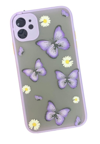 Kings Collection purple Purple Butterfly iPhone 11 Case (KCMCL2198) 11FB4AC7532846GS_1