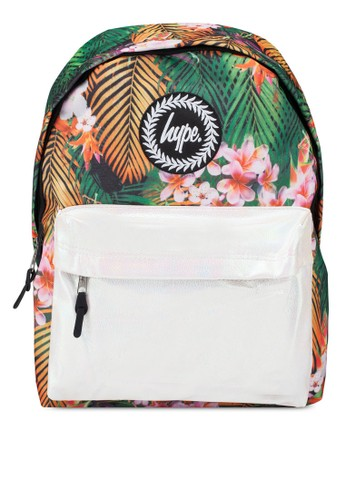 Just Hype multi Tropical Pearl Pocket Backpack 75C64AC1FC1063GS_1