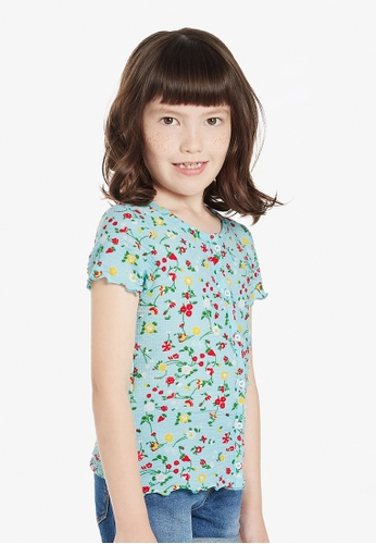 Gen Woo multi Floral T-shirt By Gen Woo 66E6AKA46122C7GS_1