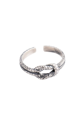 A-Excellence silver Premium S925 Sliver Geometric Ring C086DACA5FC385GS_1