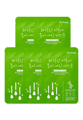 DR. YOUNG Refreshing Spring Showers Mask (Bundle of 5) DR573BE47HPCSG_1