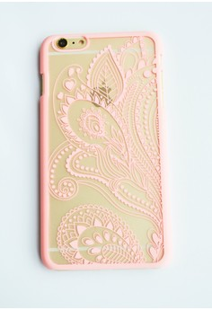 Paisley Hard Transparent Case for iPhone 6 plus, 6s plus