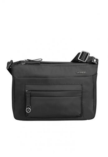 Samsonite black Samsonite Move 2.0 Horizontal Shoulder Bag S 9E4C3ACD349EEFGS_1