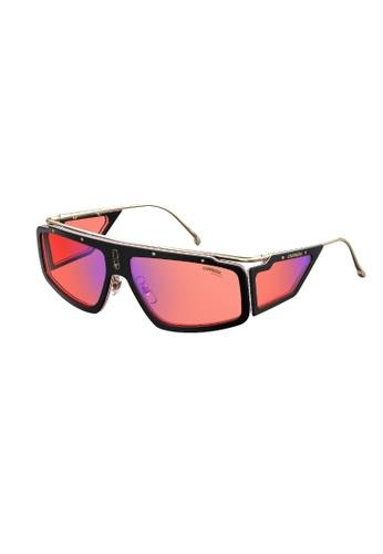 Carrera black FACER Sunglasses 19DD7GLB09AACBGS_1