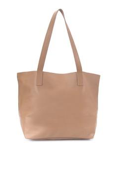 Claire Genuine Leather Tote Bag