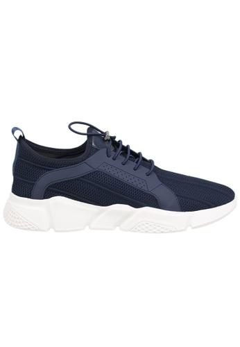 Tomaz Tomaz C345 Running Sneakers (Navy) 20B18SH4463E4EGS_1