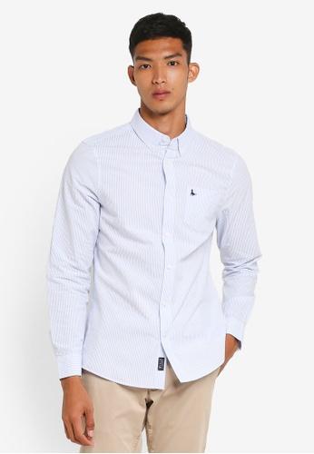 Jack Wills blue Hinchcliffe Shirt 8B1FFAA1077CD4GS_1