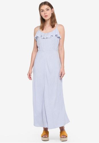 ESPRIT blue Light Woven Maxi Dress 484BAAA9D5DA2BGS_1