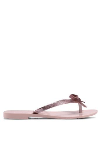 Melissa pink Melissa Harmonic Chrome II Ad Sandals 987A8SH653C3FBGS_1