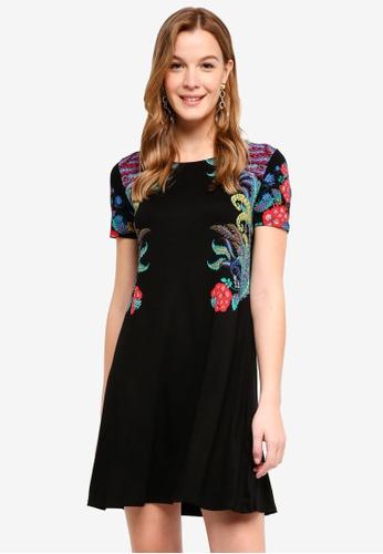 Desigual black Mara Dress 1D984AA59A3811GS_1