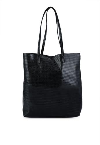 Vero Moda black Milla Shopper Bag 1D9E6AC1E6305EGS_1
