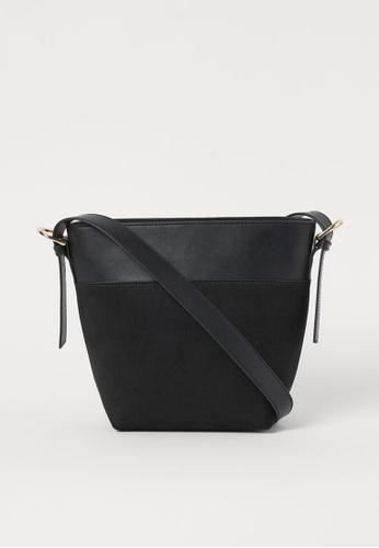H&M black Shoulder Bag C60EBACB450950GS_1