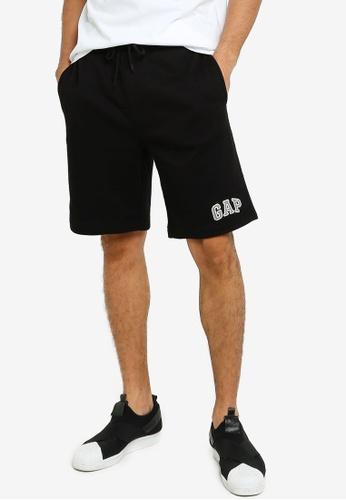 GAP black New Arch Logo Shorts D8B1EAA5E23956GS_1