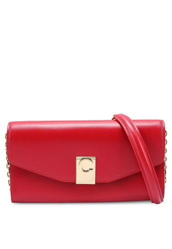 Celine red Portafoglio Donna Chain Long Wallet (oc) 6D1AFAC38DA5C4GS_1