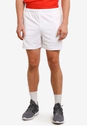 2GO white GO Dry Running Shorts 2G729AA0S5W9MY_1