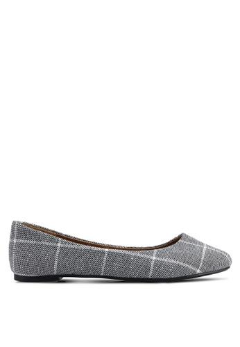 Rubi 黑色 and 白色 Britt Ballet 平底鞋 4B2C6SH894EC97GS_1