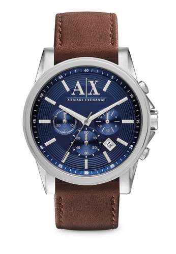 Armani Exchange brown and blue Dark Brown/Blue Armani Exchange AX2501 Watch AR845AC38FSNSG_1