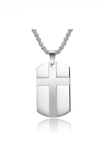 HAPPY FRIDAYS Cross Army Necklace JW QF-DZ379 D3770ACA652895GS_1