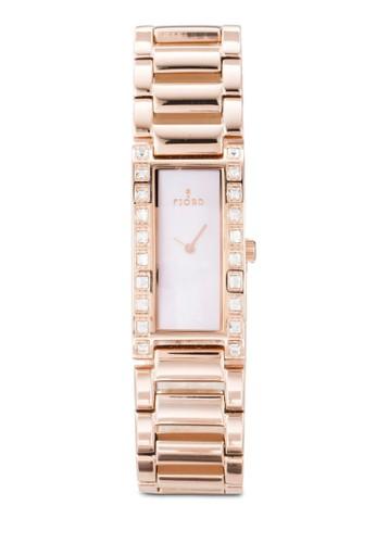Aesprit 品牌asa 閃鑽矩形框手錶, 錶類, 飾品配件