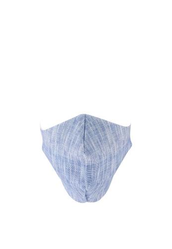 LC Waikiki blue Washable Face Mask DAA58ESD1225FAGS_1