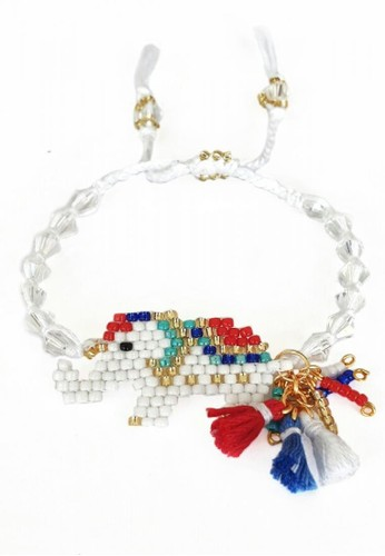 ILAVIA JEWEL white and multi and gold ILAVIA's New Bricks Popsicle White Elephant A8C0BACF77C751GS_1