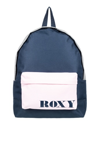 Roxy navy Sugar Baby 16L Small Backpack 1FC2FAC48C16CCGS_1
