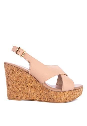 d52963eb733d Shop Shoo In Wynn Wedge Sandals Online on ZALORA Philippines