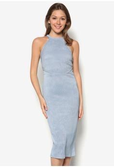 Sayma Cut-Out Calf Dress