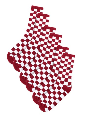 Vans multi Checkerboard Crew Ii (6.5-9, 1Pk) 50CFCAC9CD9F6CGS_1