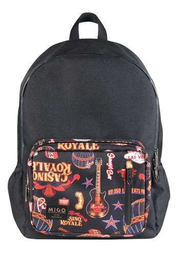 Migo black Lightbox U5 Backpack MI595AC2UXN3HK_1
