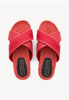 3ddc2b6d19 Tommy Hilfiger Colorful Tommy Flat Sandal RM 569.00. Sizes 37 38